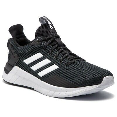 ADIDAS QUESTAR RIDE F34983 BLACK MEN'S ORIGINAL SNEAKERS