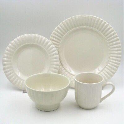 Thomson Pottery 16-pc Maison White Dinnerware Set One Size