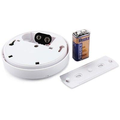 Photoelectric Wireless Smoke Alarm Home Security Fire Sensor Detector Fine