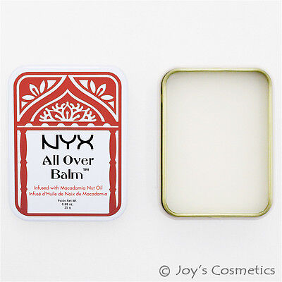 """1 NYX All Over Body Balm  """" AOB 03 - Macadamia Nut Oil """"   *Joy's cosmetics*, used for sale  Shipping to India"""