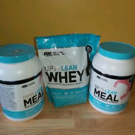 Opti lean meal replacement powder