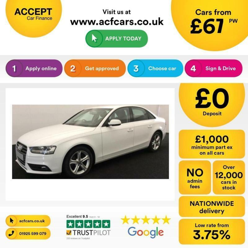 Audi A4 2.0TDIe ( 136ps ) 2013MY SE Technik FROM £67 PER WEEK!