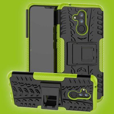 Für Huawei Mate 20 Lite Hybrid Case 2teilig Outdoor Grün Tasche Cover Hülle Etui