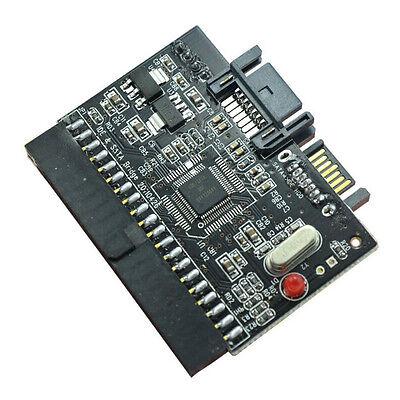 Adaptador Disco Duro convertidor IDE a SATA o SATA a IDE bidireccional...