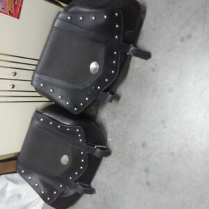 Oringinal saddle bags for Royal Star touring classic 1300cc 1998