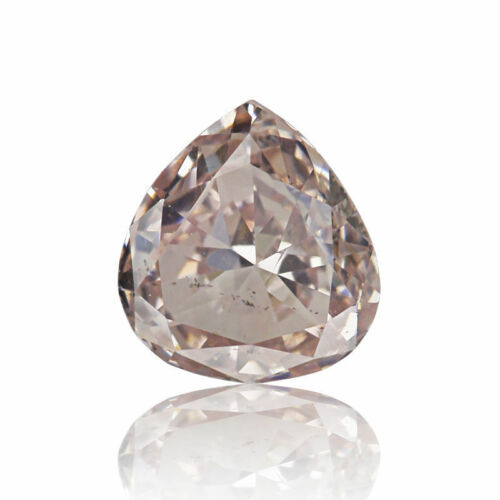 Pink Natural Diamond 0 .23 Ct Fancy Light GIA Certified Great Color Pear Cut