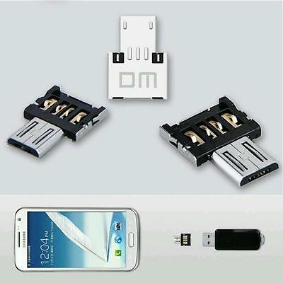 3×USB Flash Drive U Disk OTG Converter Adapter For Samsung