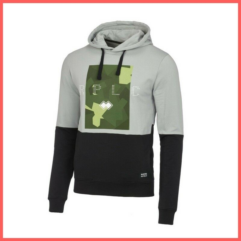 ERREA' Republic Männer Pullover Trend R16G0X0Z38830 col.grigio/noir Winter 2017