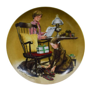 knowles plate, collection Norman Rockwell