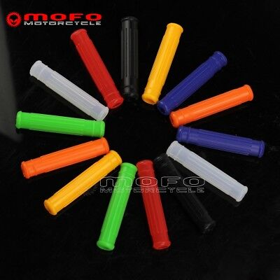 Brake Lever Grips - Universal Motorcycle Silicone Brake & Clutch Lever Grips Covers Sleeve 7Colors