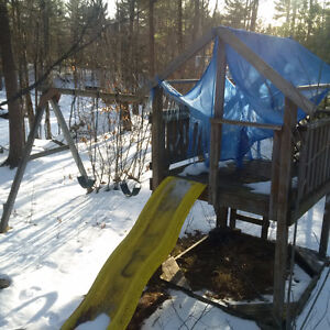 PRICE DROP - Solid Play Structure – Tweed