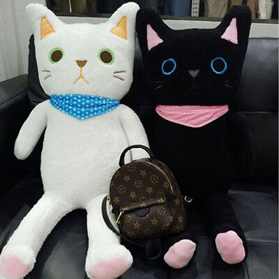 Best Stuffed Plush Animals Cat Toys Soft Cuddly Blak and White Cats Doll
