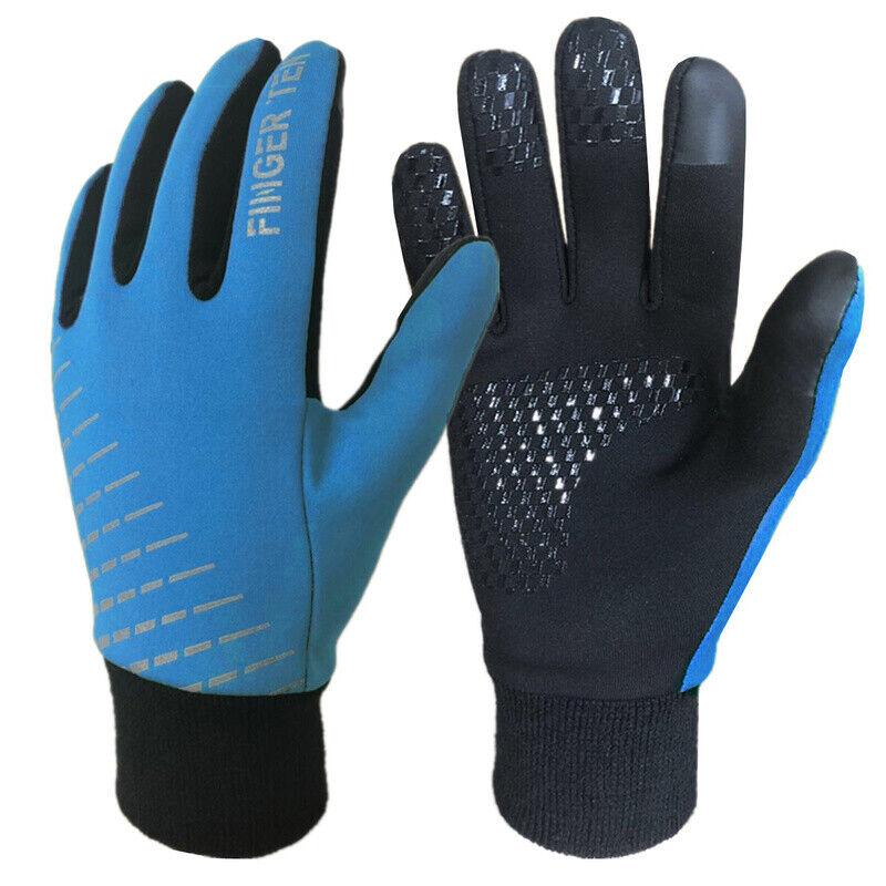 Kids Winter Gloves Waterproof Wind Resistant Thermal Snow Outdoor Mittens Boys
