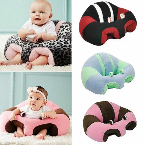 Baby Sessel sitzsack auf Weichem Sitzkissen Unterstützung Sofa Plüsch Kissen NEU