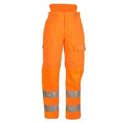SIP Hi-vis chainsaw trousers  4-way stretch  GO/RT Flex  type C Inc VAT NEW