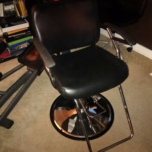 hairstyling and dryer chair pair