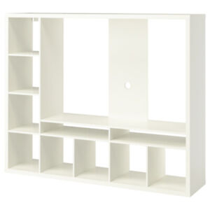 Ikea White LAPPLAND TV storage unit