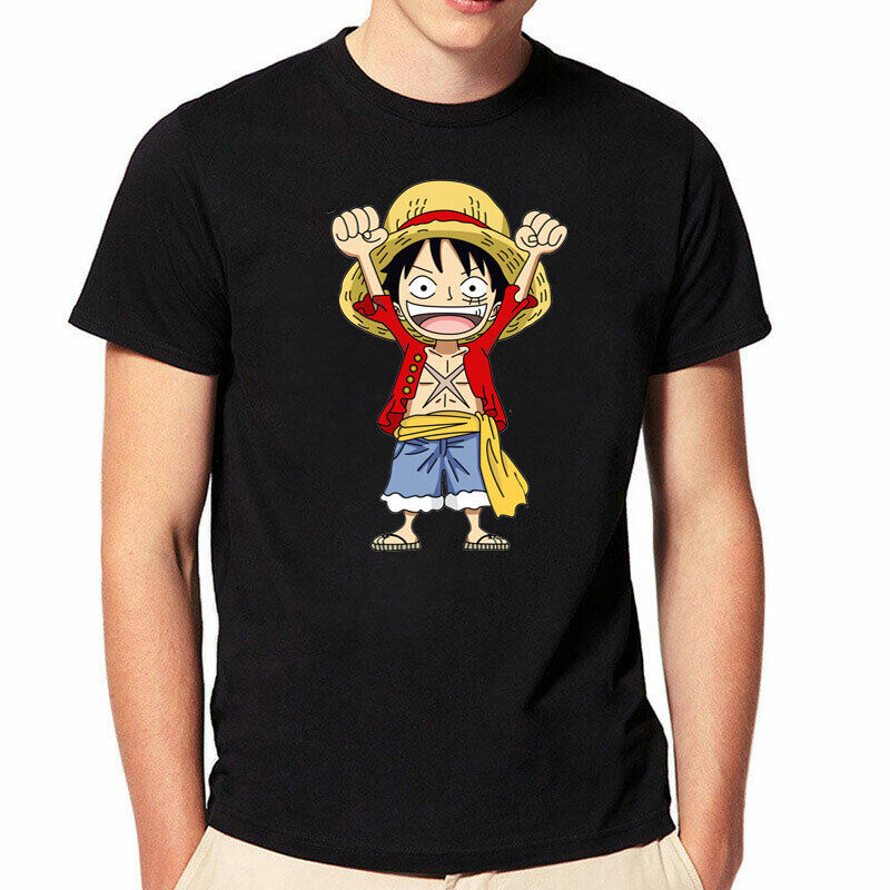 High quality UK seller fast delivery! One Piece Luffy anime T shirts