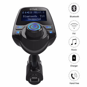 FM Transmitter, Bluetooth Car Kits with Music Control and TF Car Regina Regina Area image 4