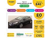 Vauxhall/Opel Astra GTC 1.4i 16v Turbo) 2014MY SRi FROM £41 PER WEEK.