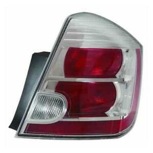 2010-2012 Nissan Sentra Driver Side Tail Light Assembly - Value Line ®