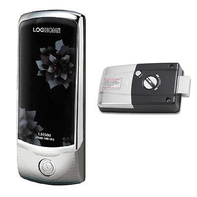 Evernet LH-500 Keyless Digital Door Lock 1Way Silver