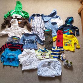 Boys baby bundle age 3-6 months