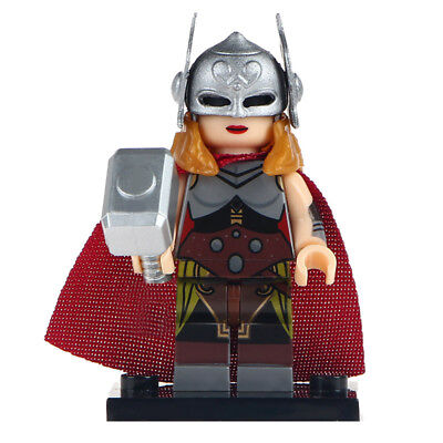 Jane Foster - Marvel Thor Film, Collectable Lego DYI Minifigure For Kids  (Lego Thor Film)