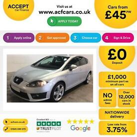 Seat Leon 2.0TDI CR ( 170ps ) 2012MY FR+ FROM £45 PER WEEK !
