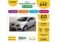 SEAT LEON 1.4 ECOTSI FR TECHNOLOGY 2.0 TDI SE BUSINESS FROM £45 PER WEEK !
