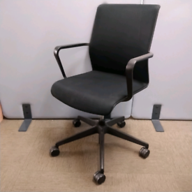Senator Circo CR2, Black Mesh Back Chair, Height Adjustable