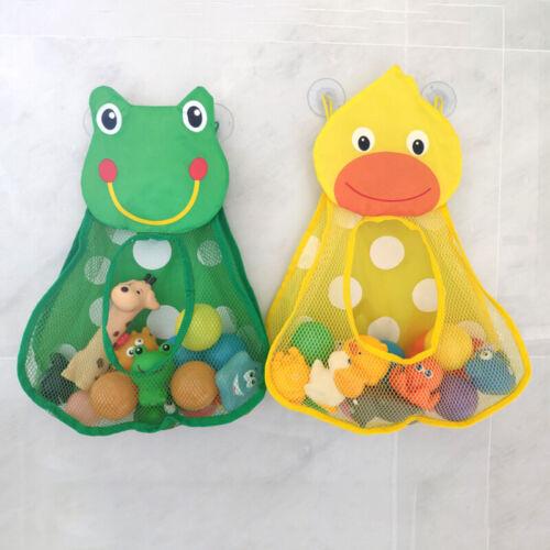 Baby Bathtub Toy Mesh Duck Frog Storage Bag Holder Bathroom