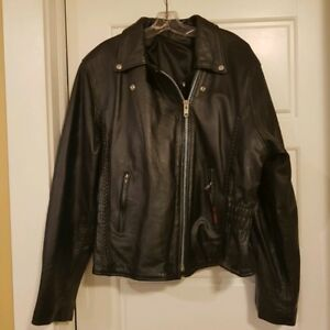 Female Motorcycle Leather Outfit