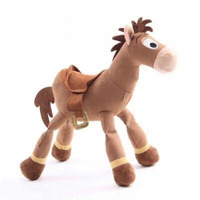 "10"" Toy Story Bullseye Horse Pixar Soft Plush Figure Stuffed Anime Doll Xmas Toy"