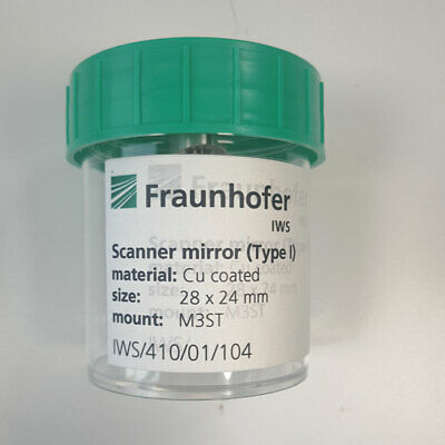 Fraunhofer Scanner Mirrortype I 2824mm Mount M3st Cu Coated
