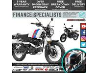 Lexmoto Tempest 125cc Naked Retro Motorcycle Finance UK/IRE Delivery