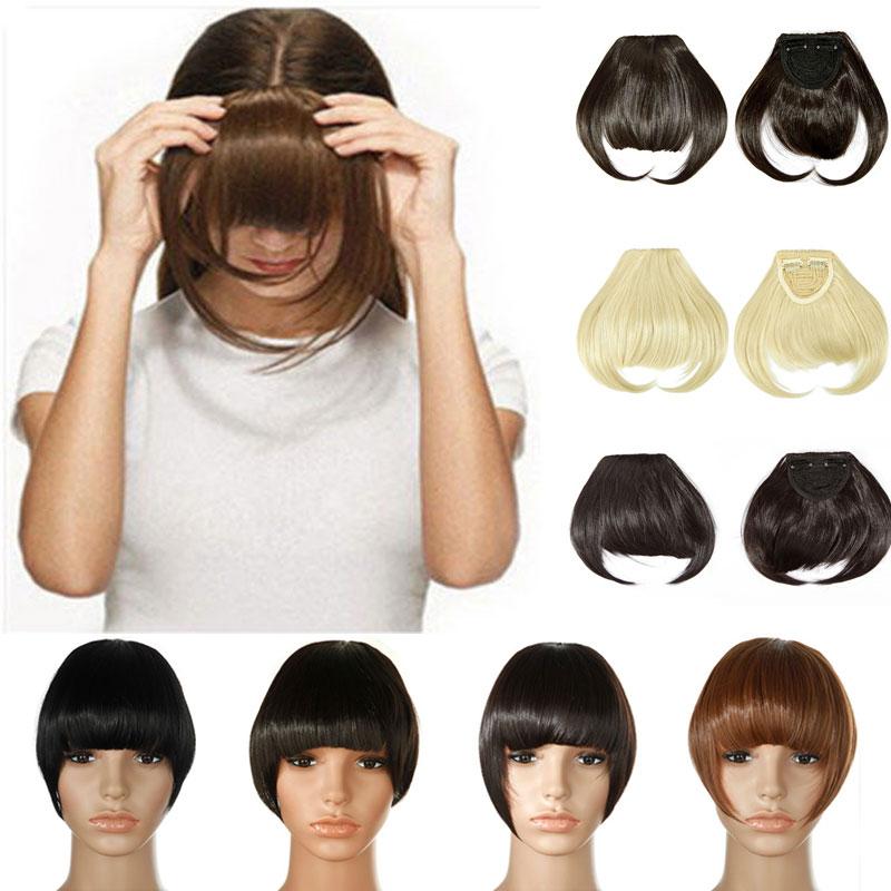 Pony Haarteil Clip in Extensions Haarverlängerung Haarverdichtung viele Farben