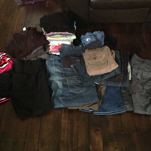 Huge box of maternity clothes - excellent condition