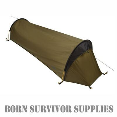 Trekmates SQUALL BIVI BAG Twin Hooped 1-Man Tent Waterproof Shelter Bivvy Basha