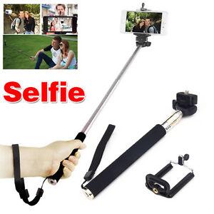 selfie handheld monopod stick holder for samsung galaxy s6 edge plus note 5 4. Black Bedroom Furniture Sets. Home Design Ideas