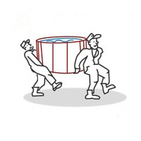 HOT TUB MOVERS / REMOVAL