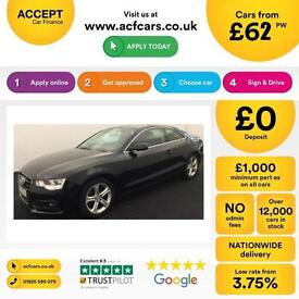 Audi A5 2.0TDI ( 161bhp ) 2012MY SE Technik FROM £62 PER WEEK!