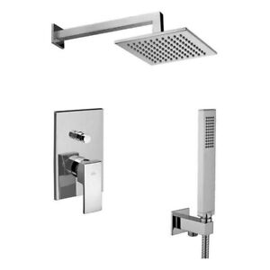 Rain shower set, Shower systems, Control valve in wall system