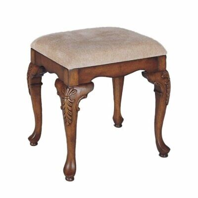 Bowery Hill Bench Lightly Distressed Deep Cherry Finish Distressed Cherry Finish Wood