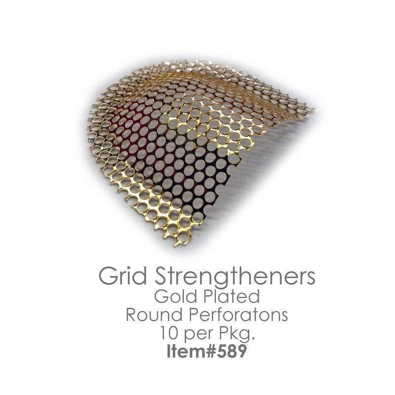 Dental Reinforcement Mesh Gold Plated Stainless Steel GRID STRENGTHENERS 10pcs