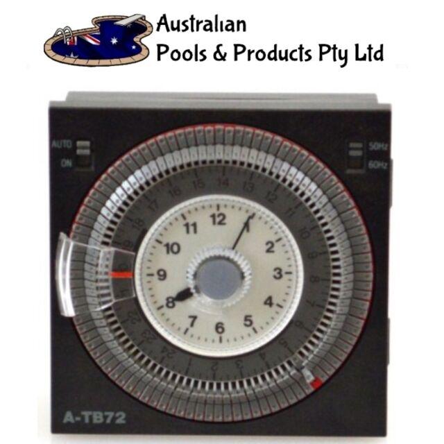 ATB-72 clock Panasonic Suit EAQUIP Clearwater  Saltmaster Poolstore Q Autochlor