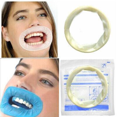10pcs Disposable Dental Mouth Opener Sterile Rubber Dam Cheek Retractor O Shape