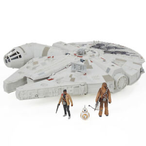 Figurines Star Wars et véhicules (Faucon, Tie Figher, XWing) !;!