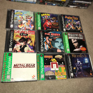 PS1 PlayStation 1 PSX original games for sale