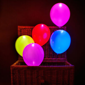 LED Colored Balloons for Wedding Light Decoration Party Supplies